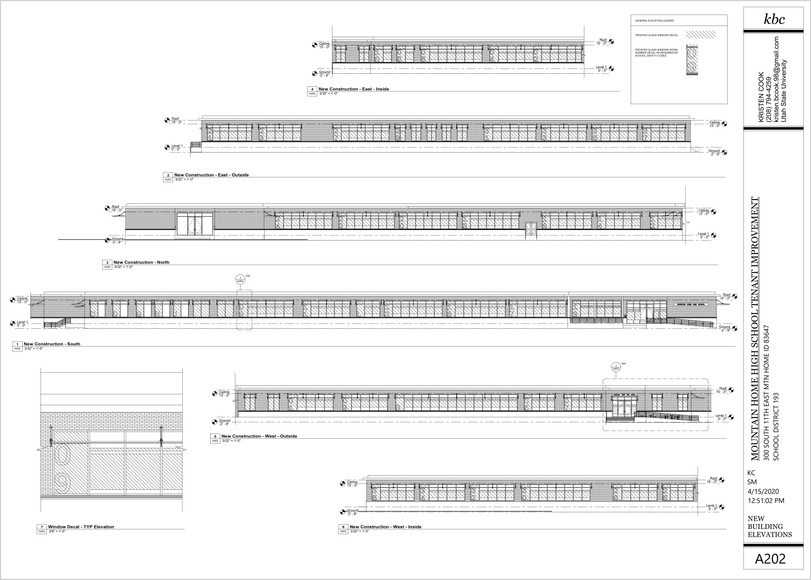 New Construction - Building Elevations