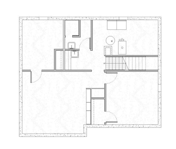 Basement Existing Floor Plan