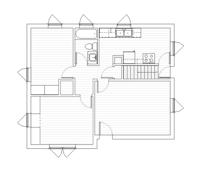 Main Existing Floor Plan