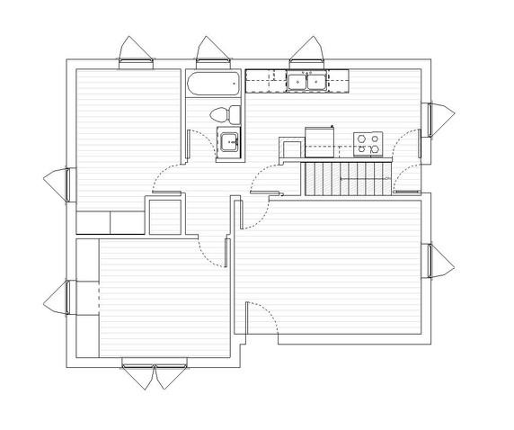 Main Existing Floor Plan