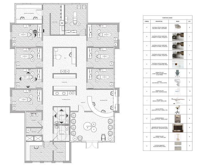 Furnished Floor Plan