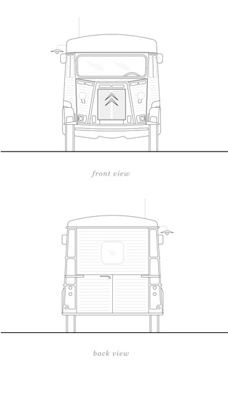 Truck - Front + Back View