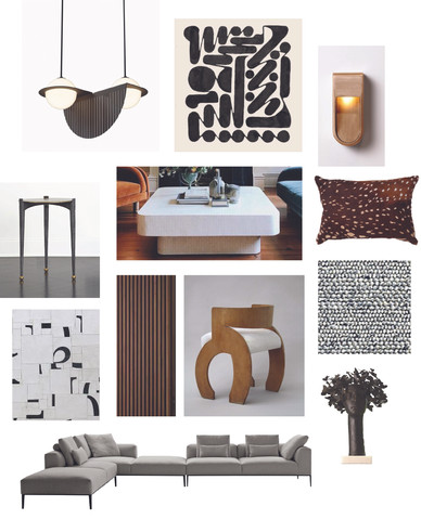 Living Room - Finishes