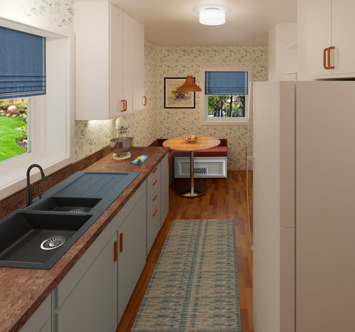 15. Kitchen View 1