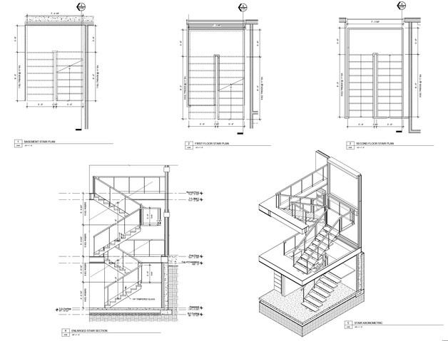 Enlarged Stair Plan