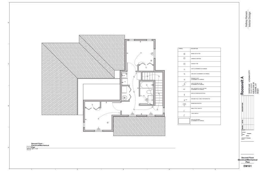 Second Floor Electrical_Mechanical Plan