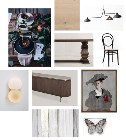 Dining Room - Furnishings + Finishes
