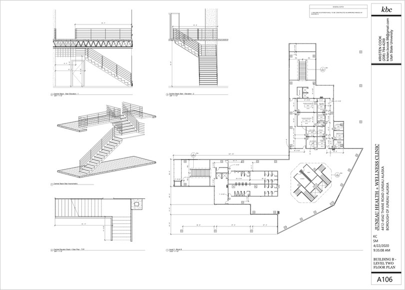 A105 - Building B - Level 2