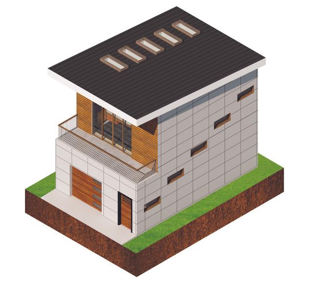The Garage - Axonometric