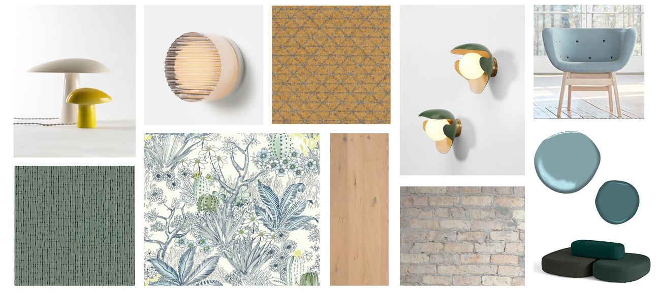 Furnishings + Materials