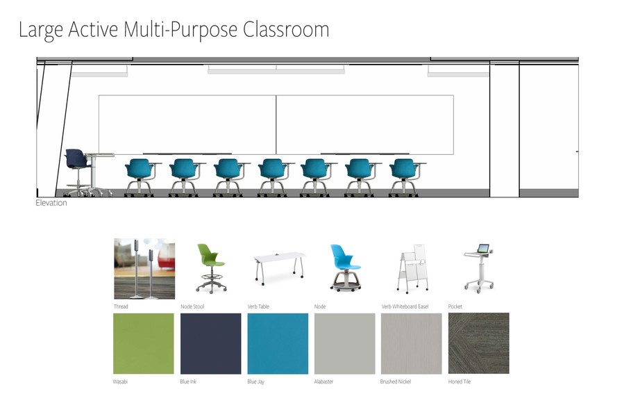 Large Active Multi-Purpose Classroom
