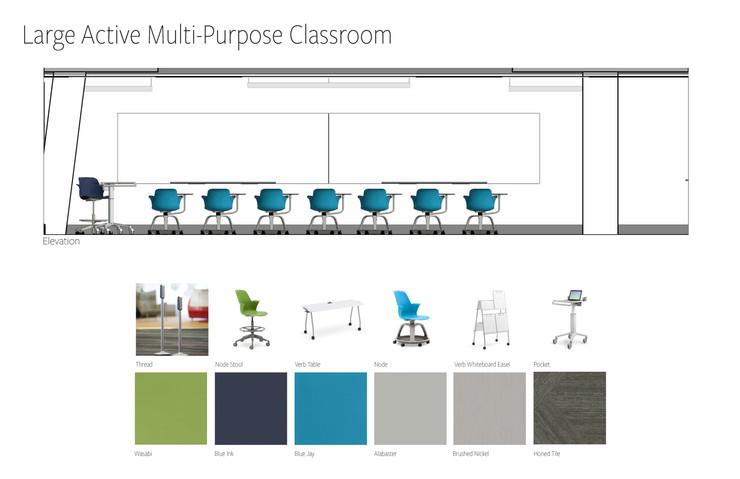 Large Active Multi-Purpose Classroom