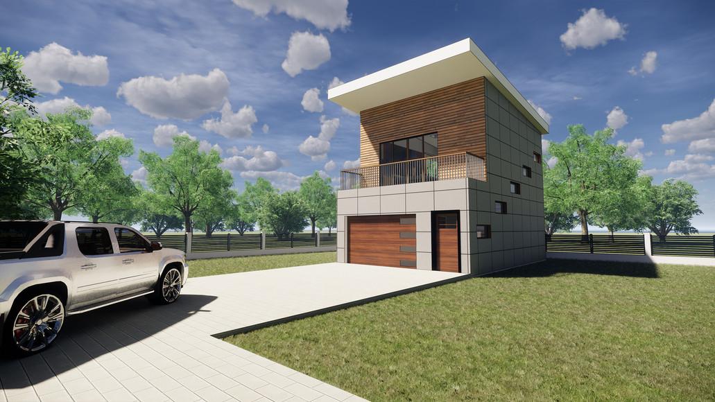 The Garage - Exterior