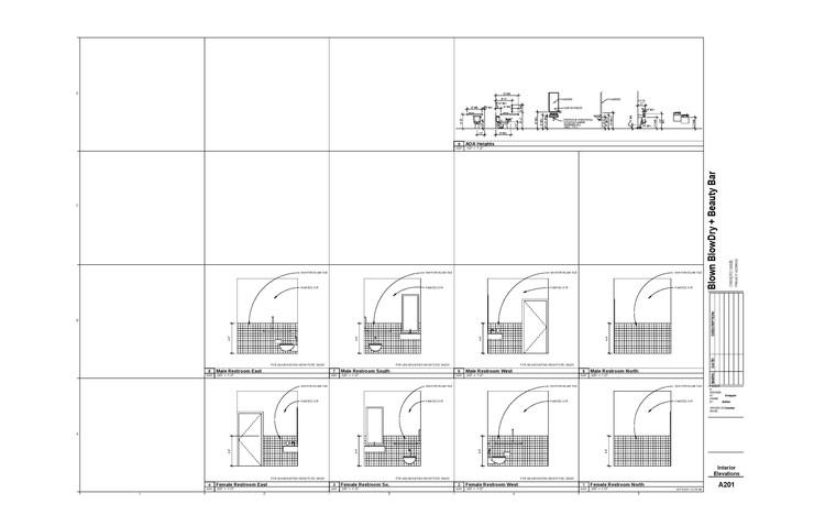 Restroom Elevations