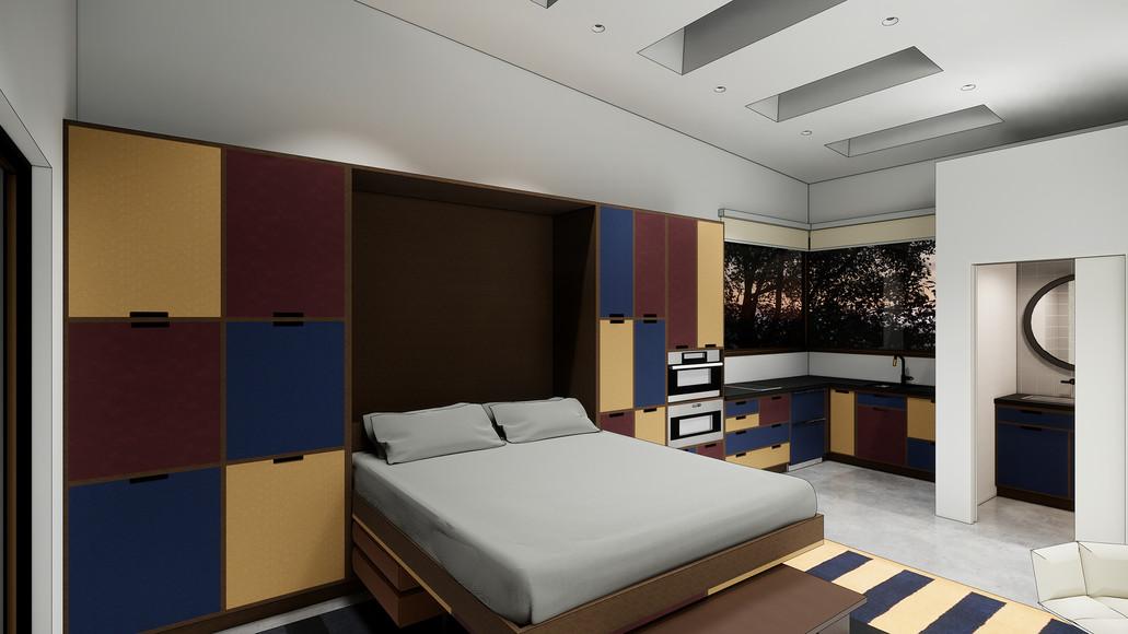 The Garage - Bedroom