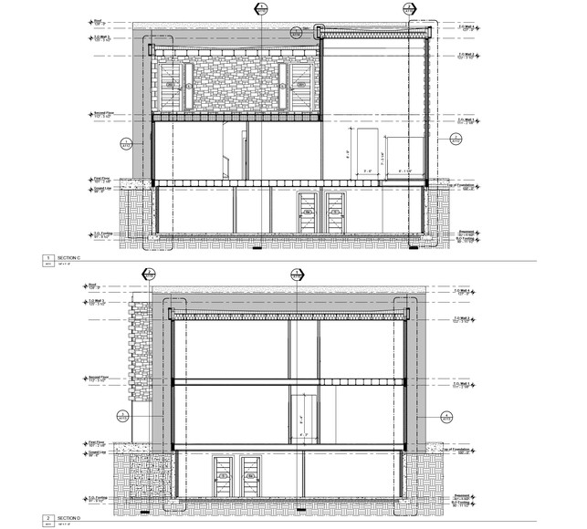 Building Sections C + D