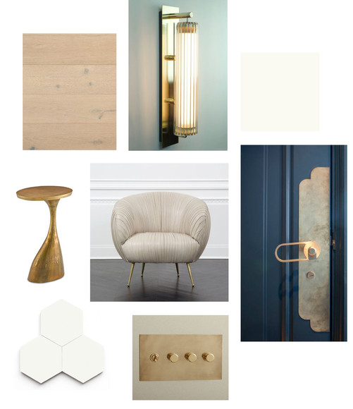 Entry - Furnishings + Finishes