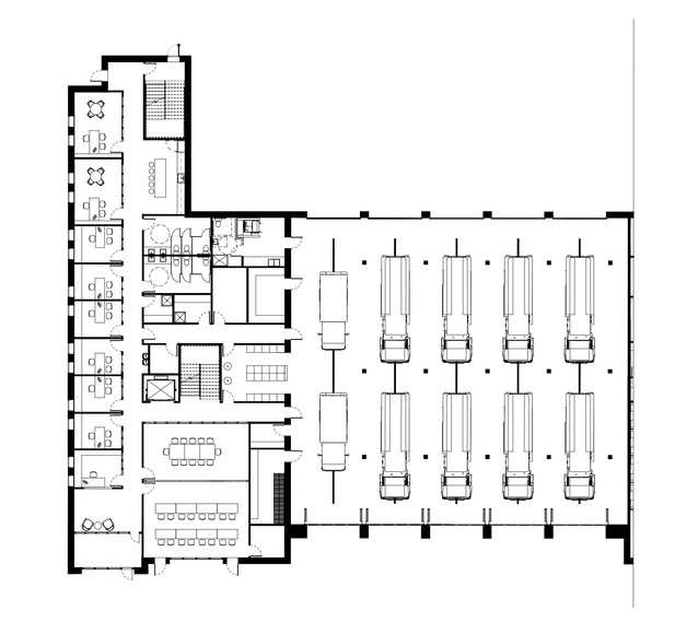 First Floor Space Plan