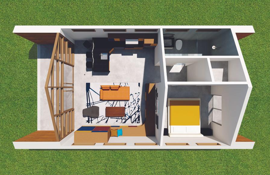 The House - Floorplan