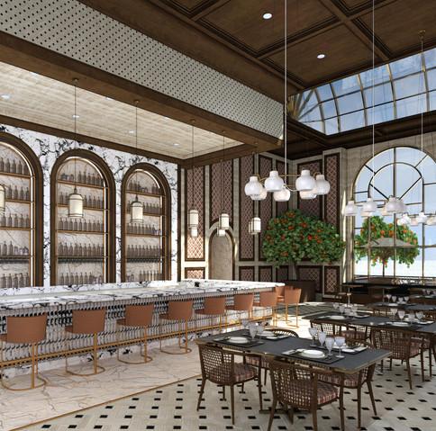 Interior Bar & Dining