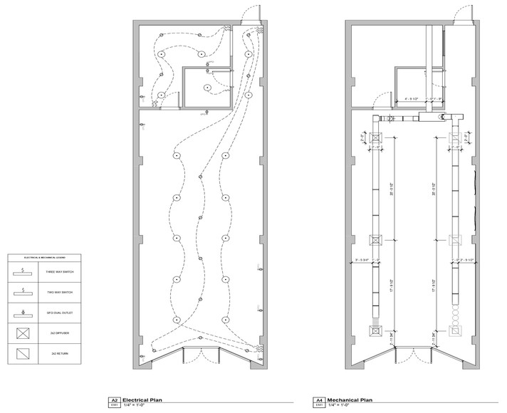 Electrical & Mechanical Plans