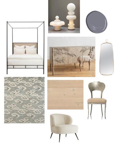 Master Bed - Furnishings + Finishes