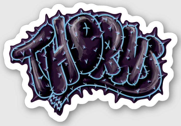 Thorns Sticker