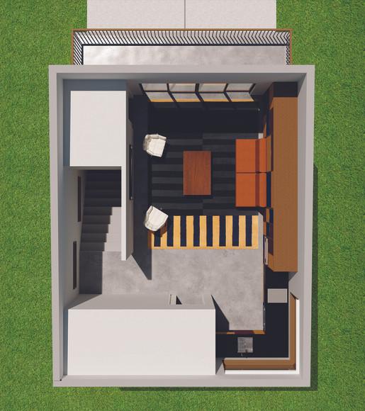 The Garage - Floorplan