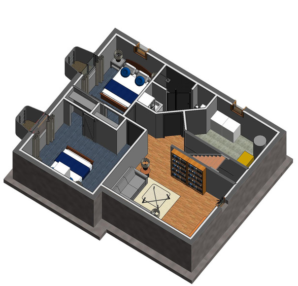 Basement 3D Model