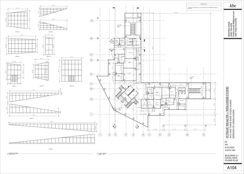 A104 - Building A - Level 2