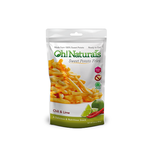 Sweet Potato Fries (Chili Lime) (12 x 80 GM)