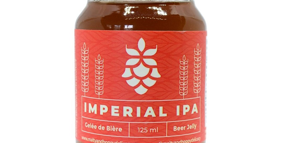 Imperial IPA Beer Jelly (12 x 125 ML)