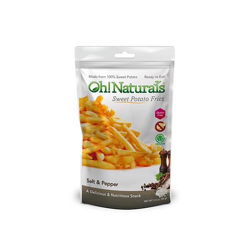 Sweet Potato Fries (Salt & Pepper) (12 x 80 GM)