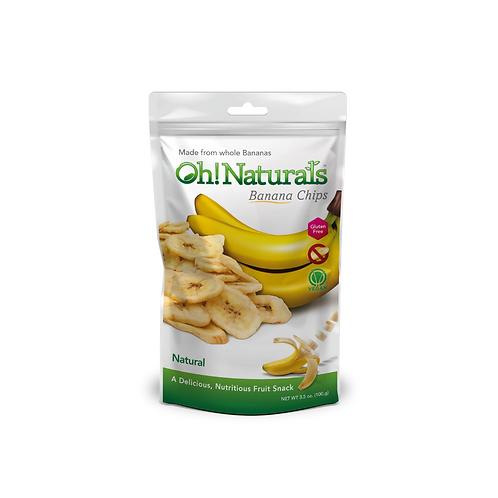 Banana Chips (Natural) (12 x 100 GM)