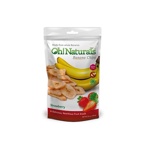 Banana Chips (Strawberry) (12 x 100 GM)