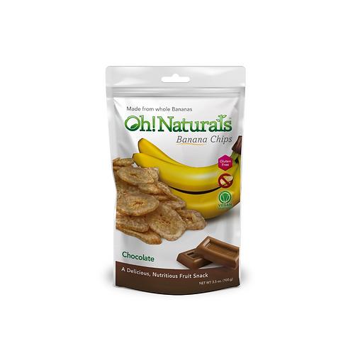 Banana Chips (Chocolate) (12 x 100 GM)