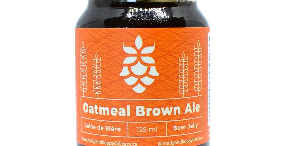 Oatmeal Brown Ale Beer Jelly (12 x 125 ML)