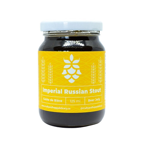 Imperial Russian Stout Beer Jelly (12 x 125 ML)