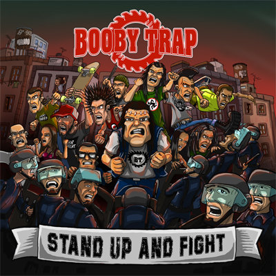 CUM 026 BOOBY TRAP Stand Up And Fight LP