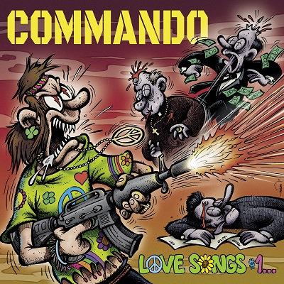CUM 032 COMMANDO Love Songs #1... (Total Destruction, Mass Executions) LP