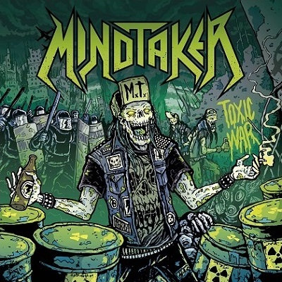 CUM 030 MINDTAKER Toxic War CD
