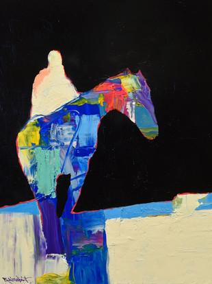 ELECTRIC HORSEMAN - PEACH