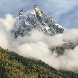 Beautiful Chamonix peak