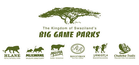 Logos of The Big Game Parks in Eswatini (Swaziland)