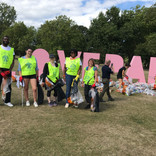 Putney Rotary helps to pick up litter