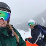Lu & Mike Snowboarding