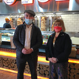 Rotary Club of Putney - Rotarian Ali opens his Shawarma Hut