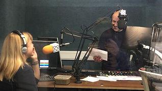 Louise McCance-Price & DJ Joey Ritchie doing Riverside Drive on Riverside Radio