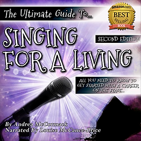 International Voice Actor Louise McCance-Price narrates Singing for a Living Audiobook