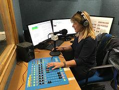Louise McCance-Price Voice Actor newsreading for Riverside Radio